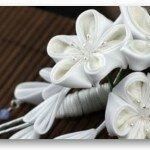 Цветочки канзаши — модное направление в рукоделии