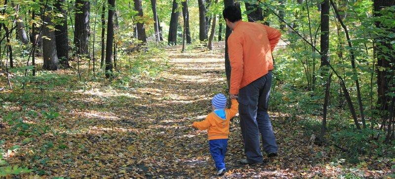 Чем занять детей осенью
