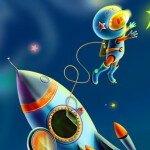 Ракета из бумаги и картона своими руками — готовимся ко Дню Космонавтики